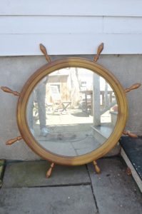 nautical mirror before