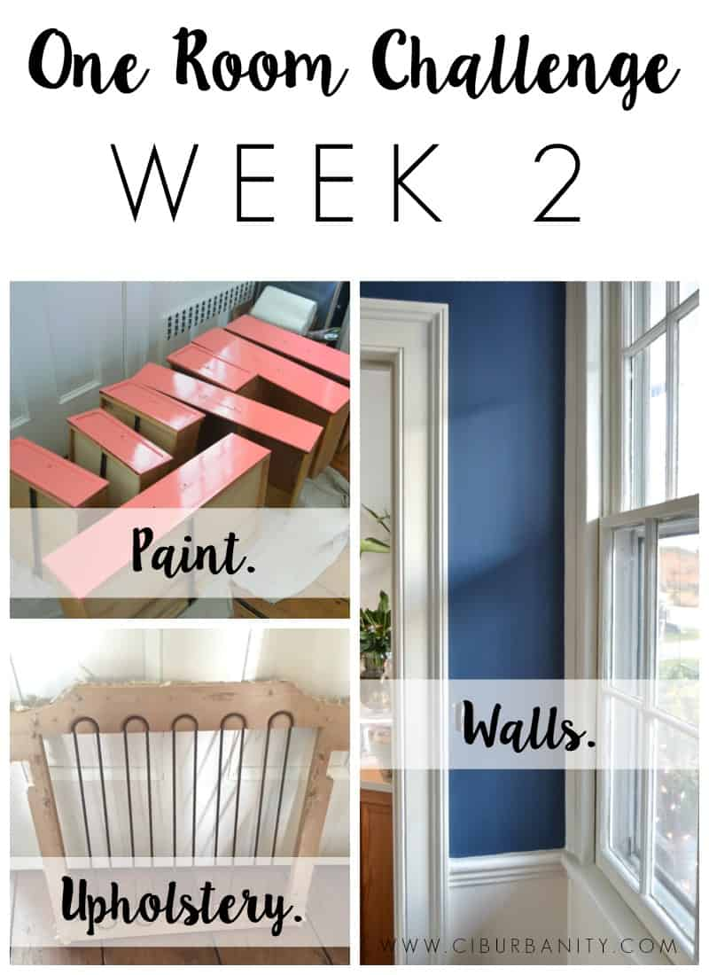 one room challenge week 2