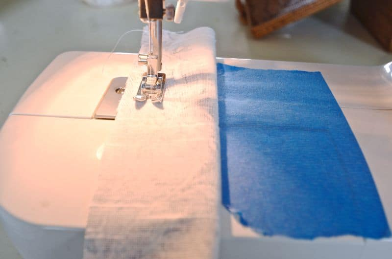 sewing curtain tabs