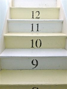 stairs up to 3rd floor