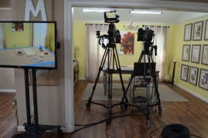 Recap of my visit to film a segment for Hallmark Channel's Home and Family Show