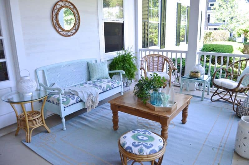 Repurposed Back porch