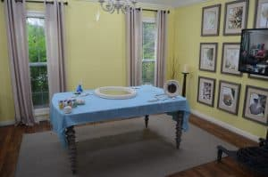 dining room at home and family