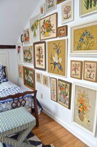 eclectic gallery wall excerpt