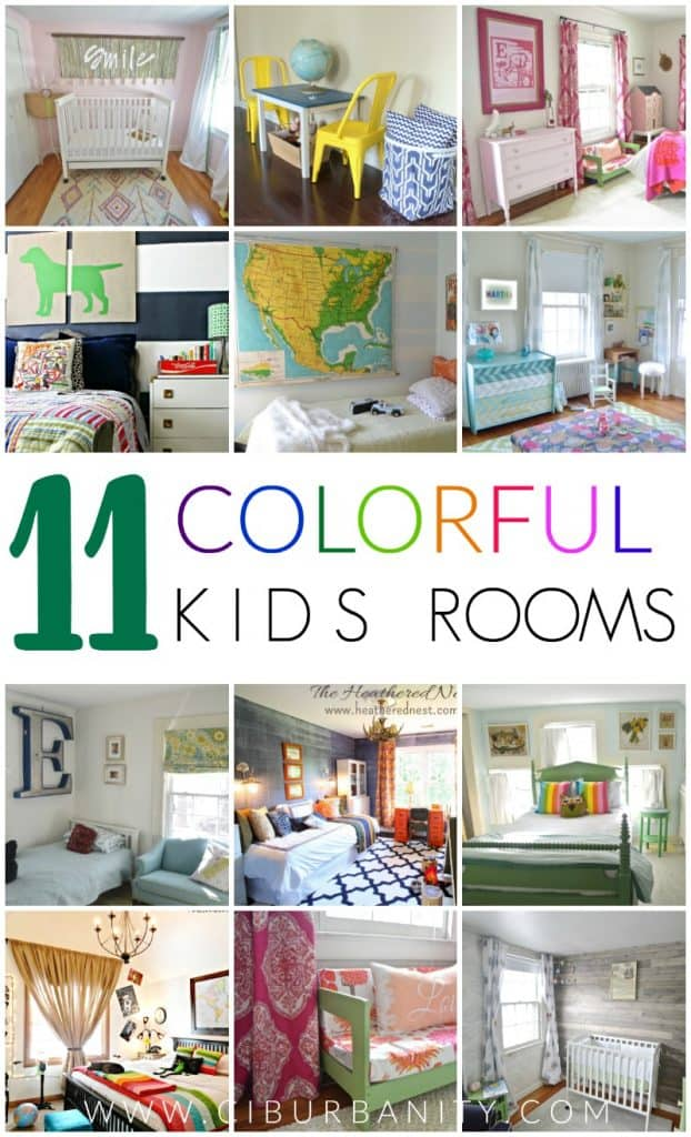 11 Colorful Kids Rooms