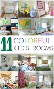 11 Colorful Kids Rooms excerpt