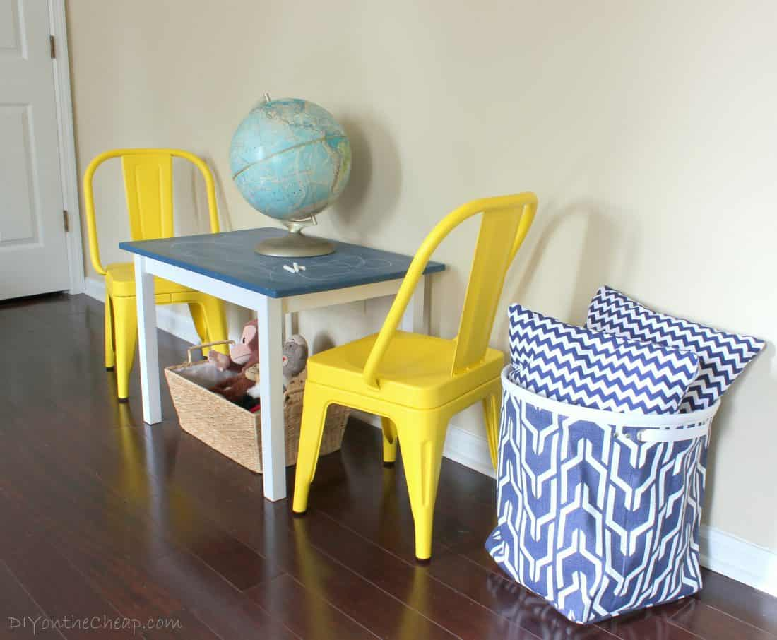 Colorful roundup of kids spaces from around the web.