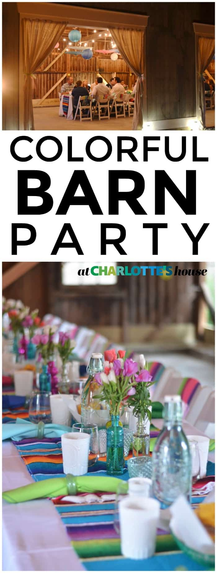 This backyard barn party was SO fun and easy to decorate!