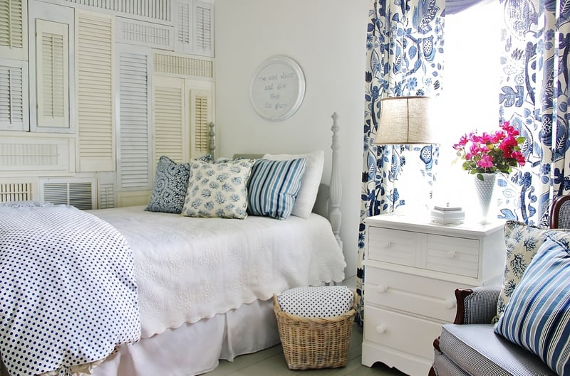 DIY bloggers answer seven questions about their style and their homes and their business each Sunday on At Charlotte's House.