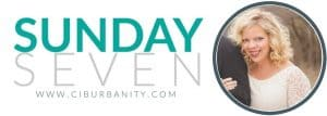 DIY bloggers answer seven questions about their style and their homes and their business each Sunday on Ciburbanity.