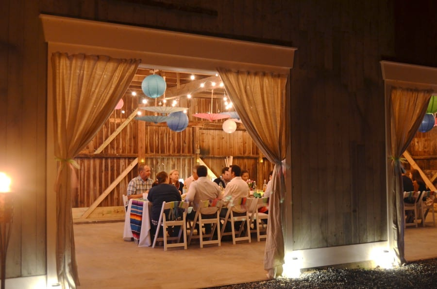 Our Colorful and Rustic Barn Party