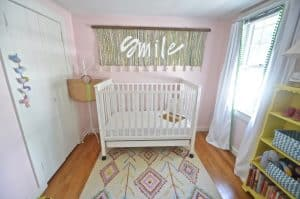 Turn a simple cotton throw rug into a fun custom wall tapestry.