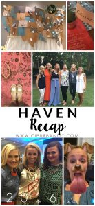 Friends and things I learned at the Haven Conference.