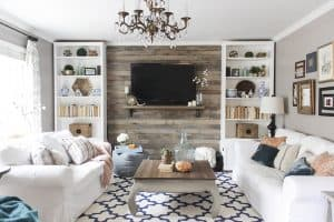 DIY bloggers answer seven questions about their style and their homes and their business each Sunday on Ciburbanity… this week Shades of Blue Interiors.