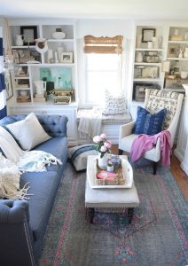 DIY bloggers answer seven questions about their style and their homes and their business each Sunday on Ciburbanity… this week Nesting With Grace.