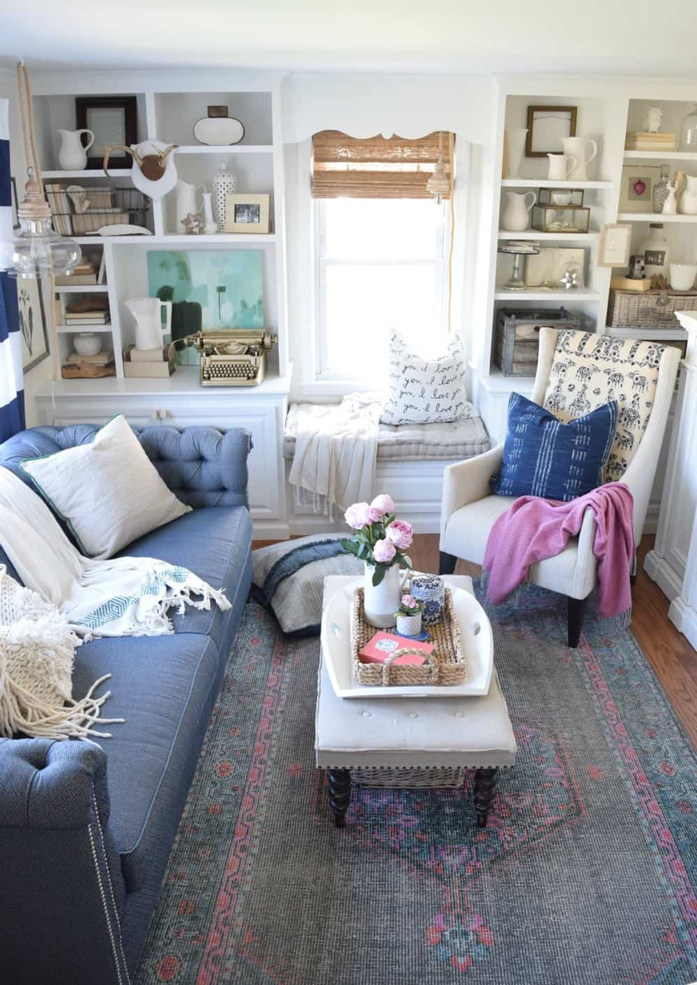 DIY bloggers answer seven questions about their style and their homes and their business each Sunday on At Charlotte's House… this week Nesting With Grace.