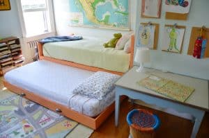 sxtra sleeping with DIY trundle bed