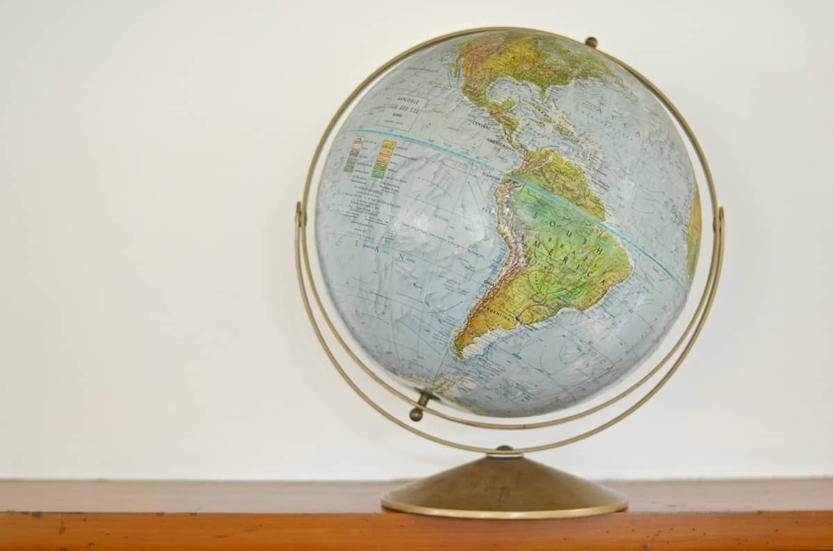 How to turn a thrifted globe into a pair of fun hanging pendant lights.