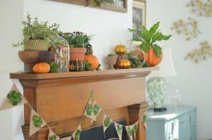 wood-mantel-with-harvest-decor
