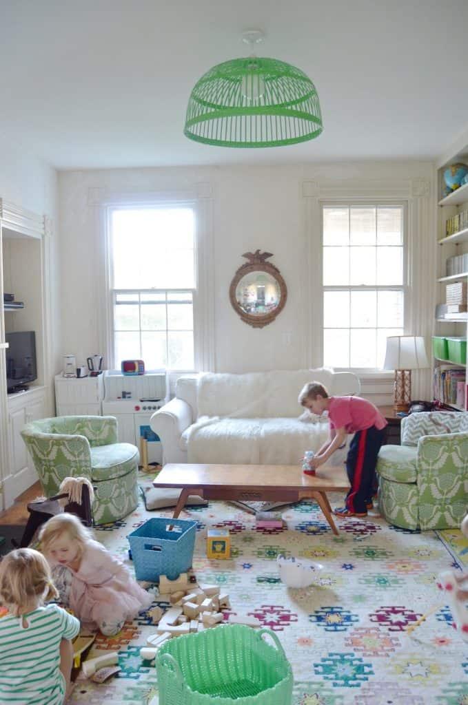 Thrifted Playroom Decor