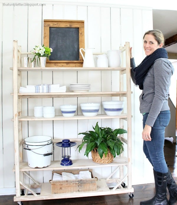 DIY bloggers answer seven questions about their style and their homes and their business each Sunday on At Charlotte's House… this week- That's My Letter.