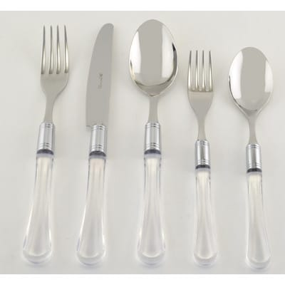 lucite-silverware