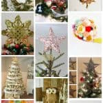 Great list of DIY tree toppers... I'm going to have to try these!