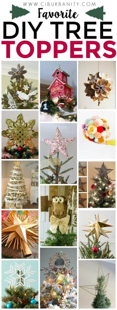 Favorite DIY Tree Toppers