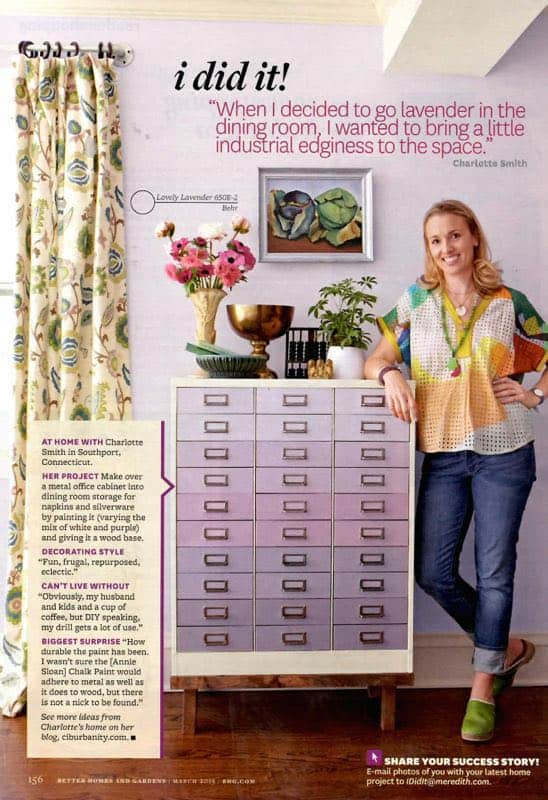I Did It Feature from Better Homes and Gardens