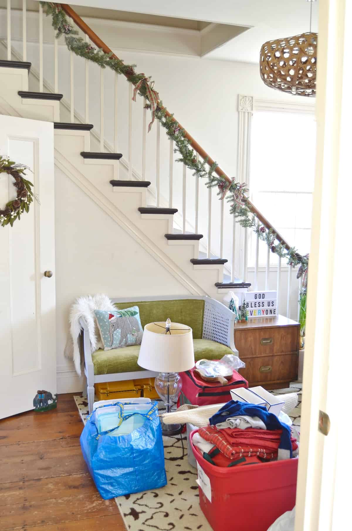 Bloggers share what their homes really look like this holiday season.