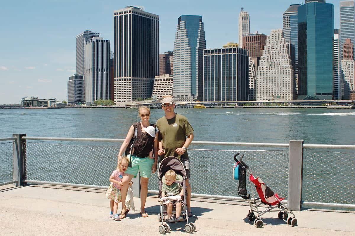 family photo in brooklyn