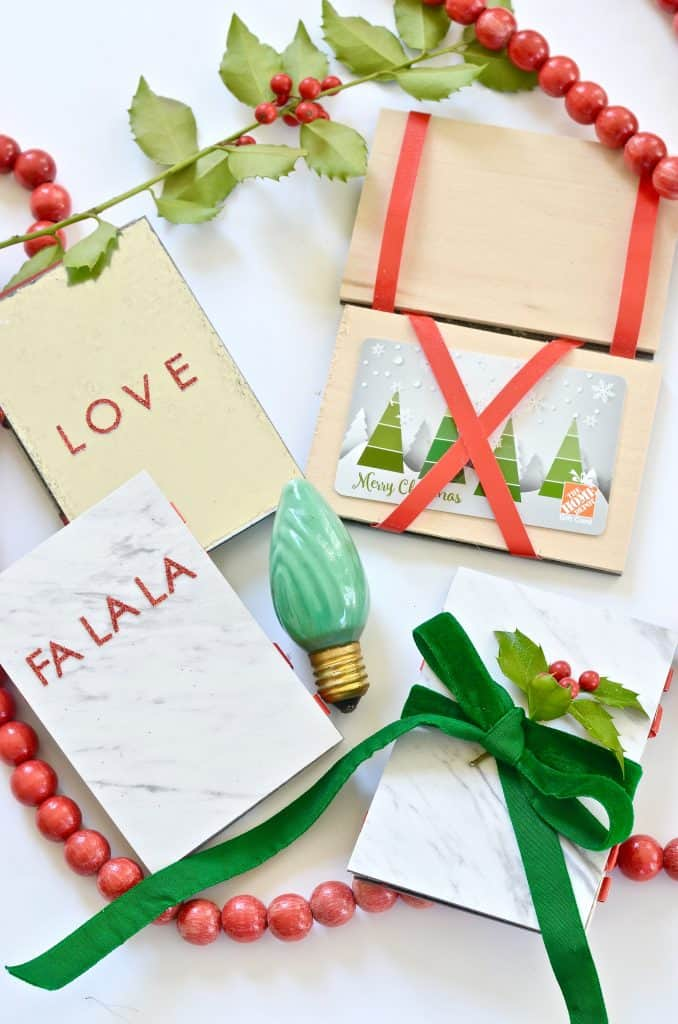 Holiday Gift Card Holder