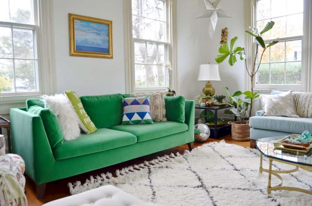 A Green Couch is the Couch for Me