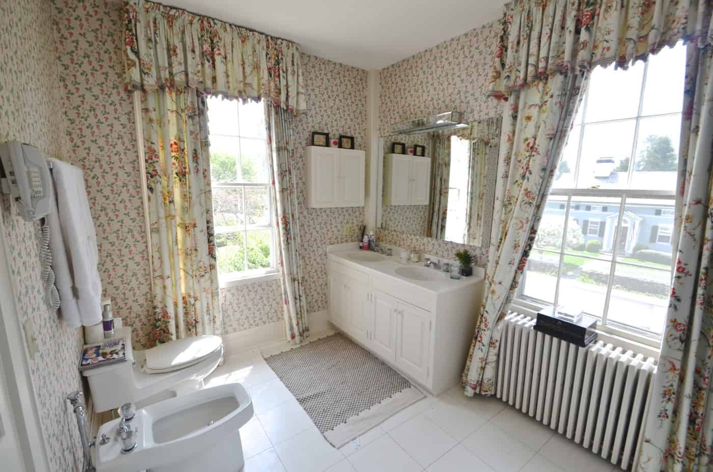modern and chic Master bathroom makeover
