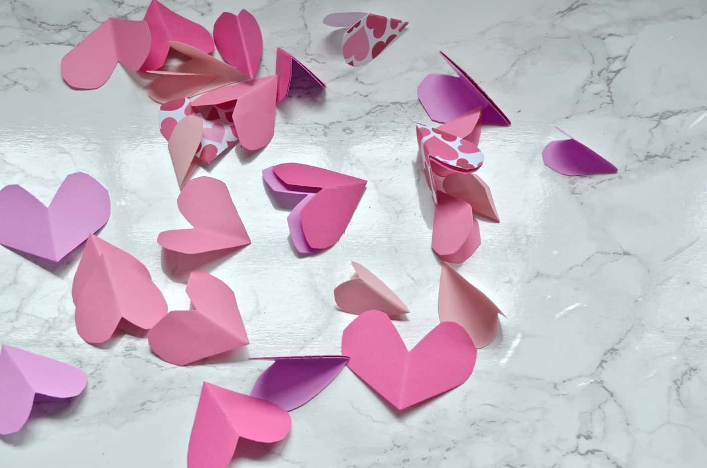 Simple and fast valentine's day crafts for under $1.