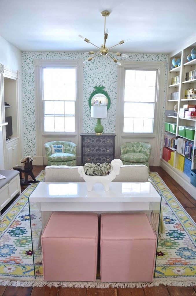 CT historic home gets a colorful makeover... home tour!