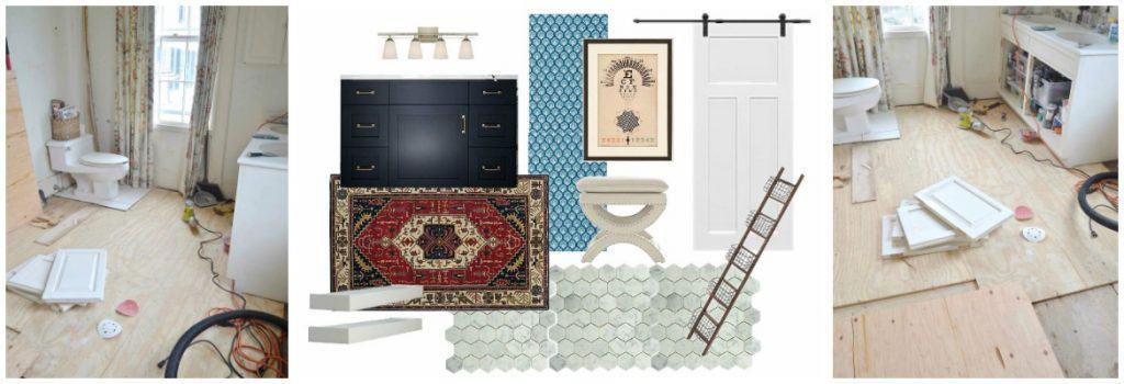 Master Bathroom: Removing the Floor Tile