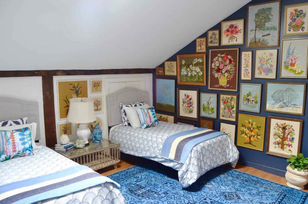 Headboards and a New Gallery Wall