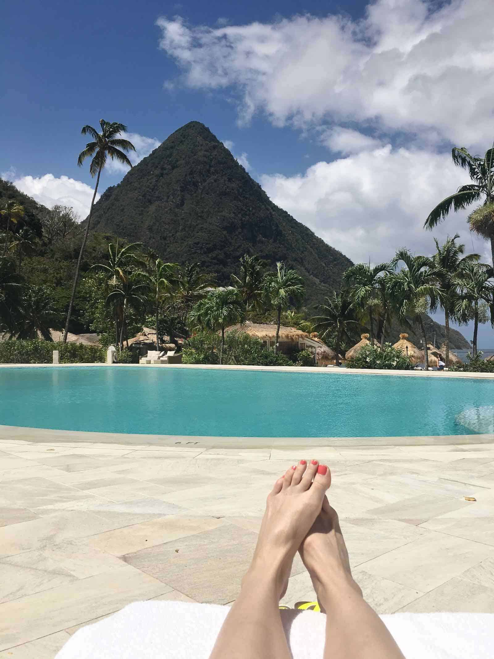 My favorite vacation gear and a recap of our trip to Saint Lucia.
