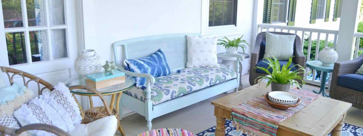 Summer Porch Refresh- Seasonal Simplicity Summer Tour