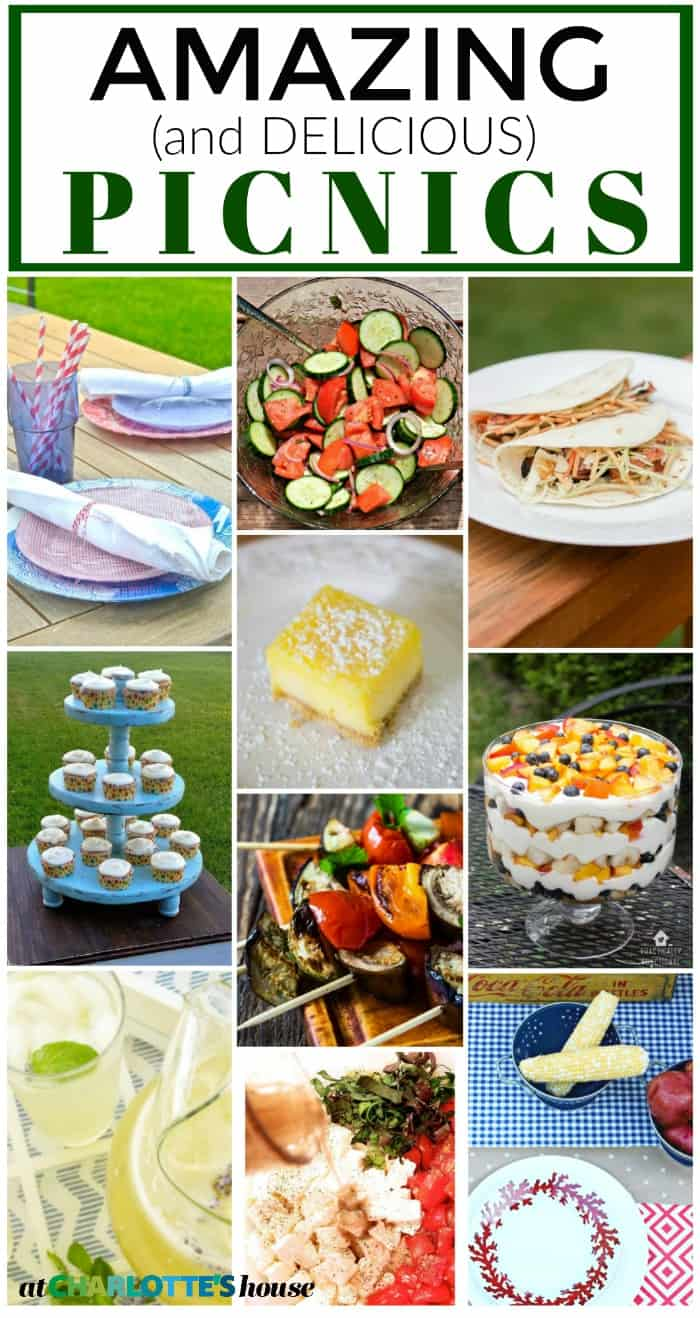 Picnic Ideas from around the web... everything from recipes to decor!