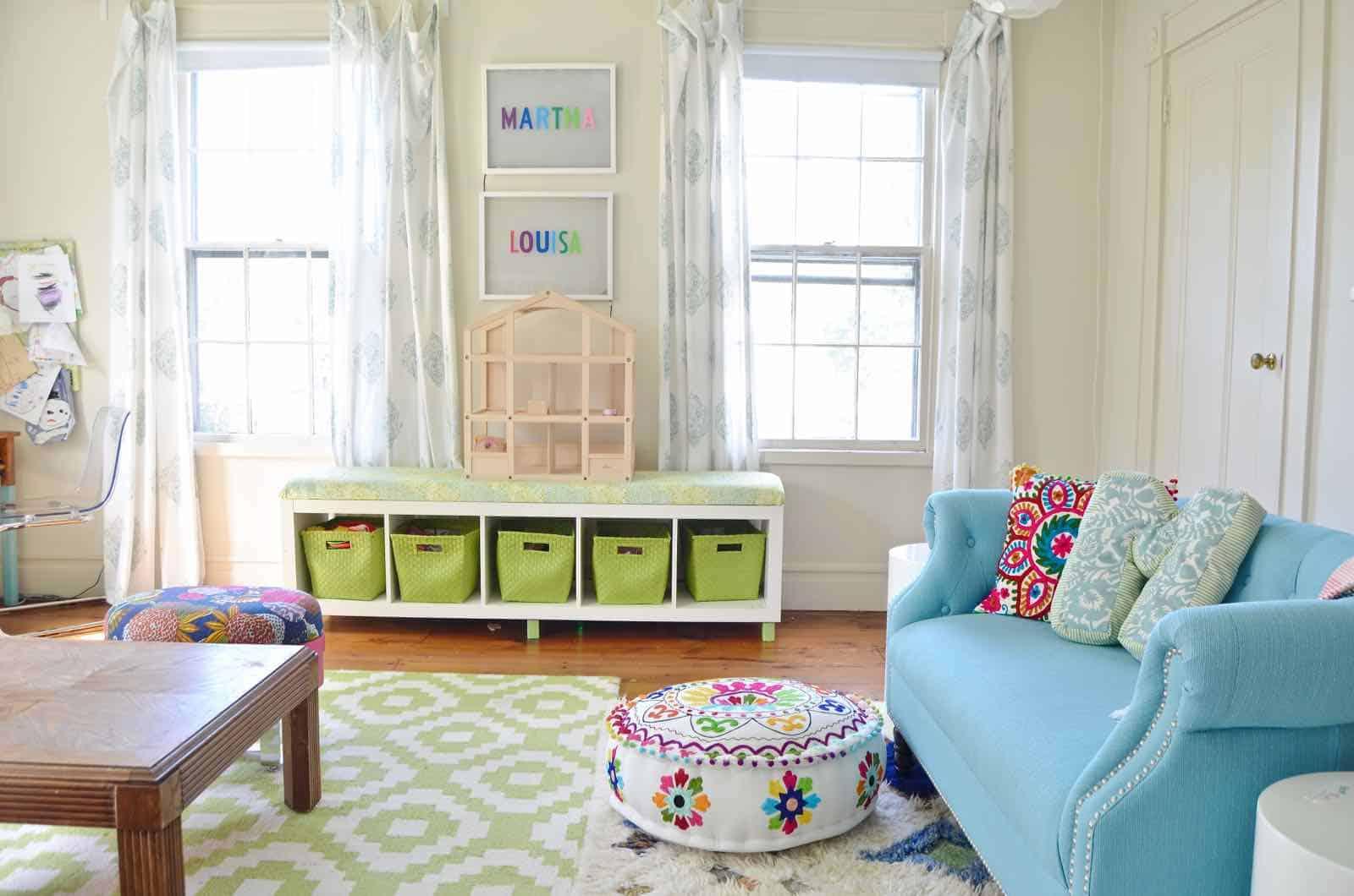 shared little girls room