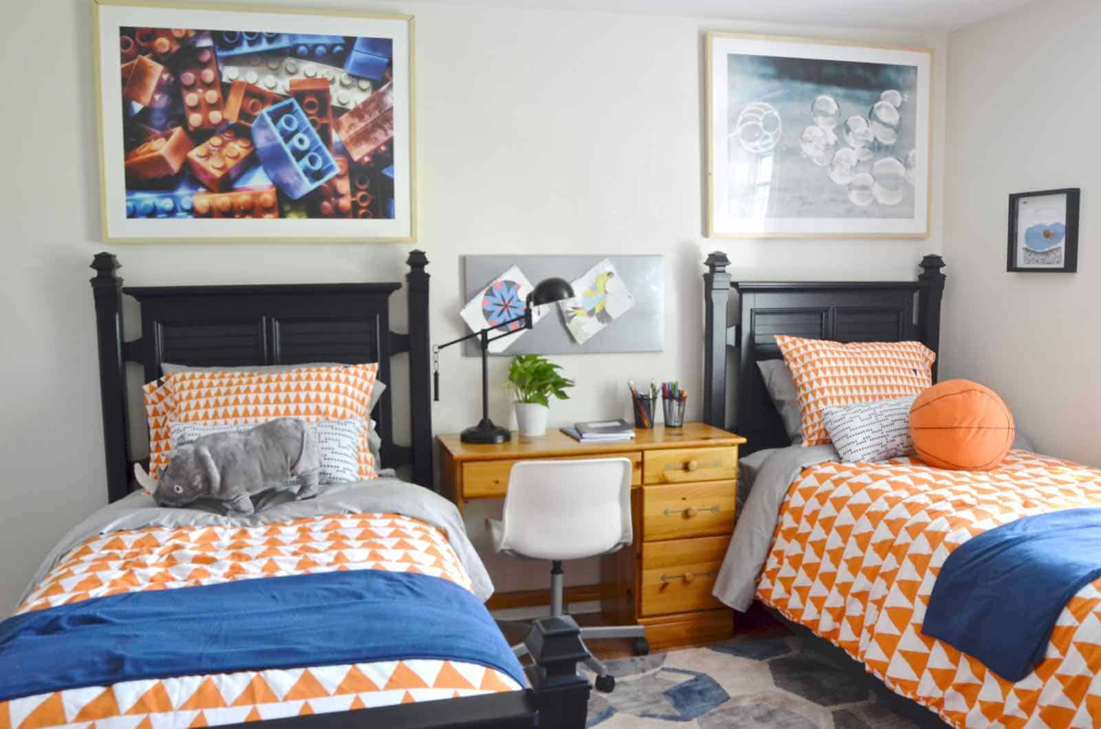 Shared boys room habitat