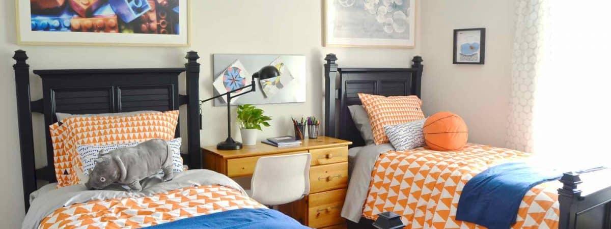 Bloggers Heart Habitat: Boys' Shared Bedroom