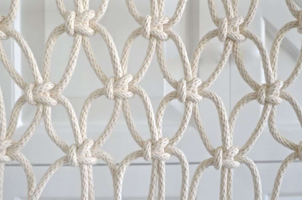 macrame square knots... how to
