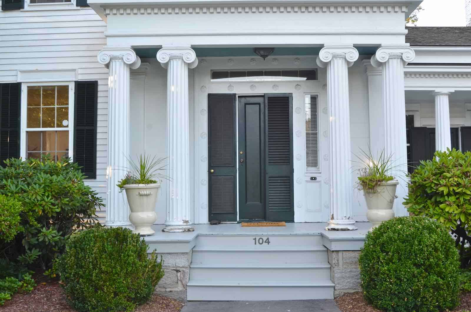 painted porch makeover