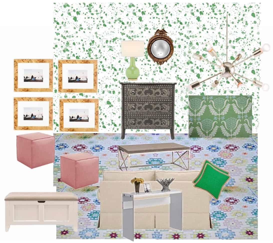 playroom vision board
