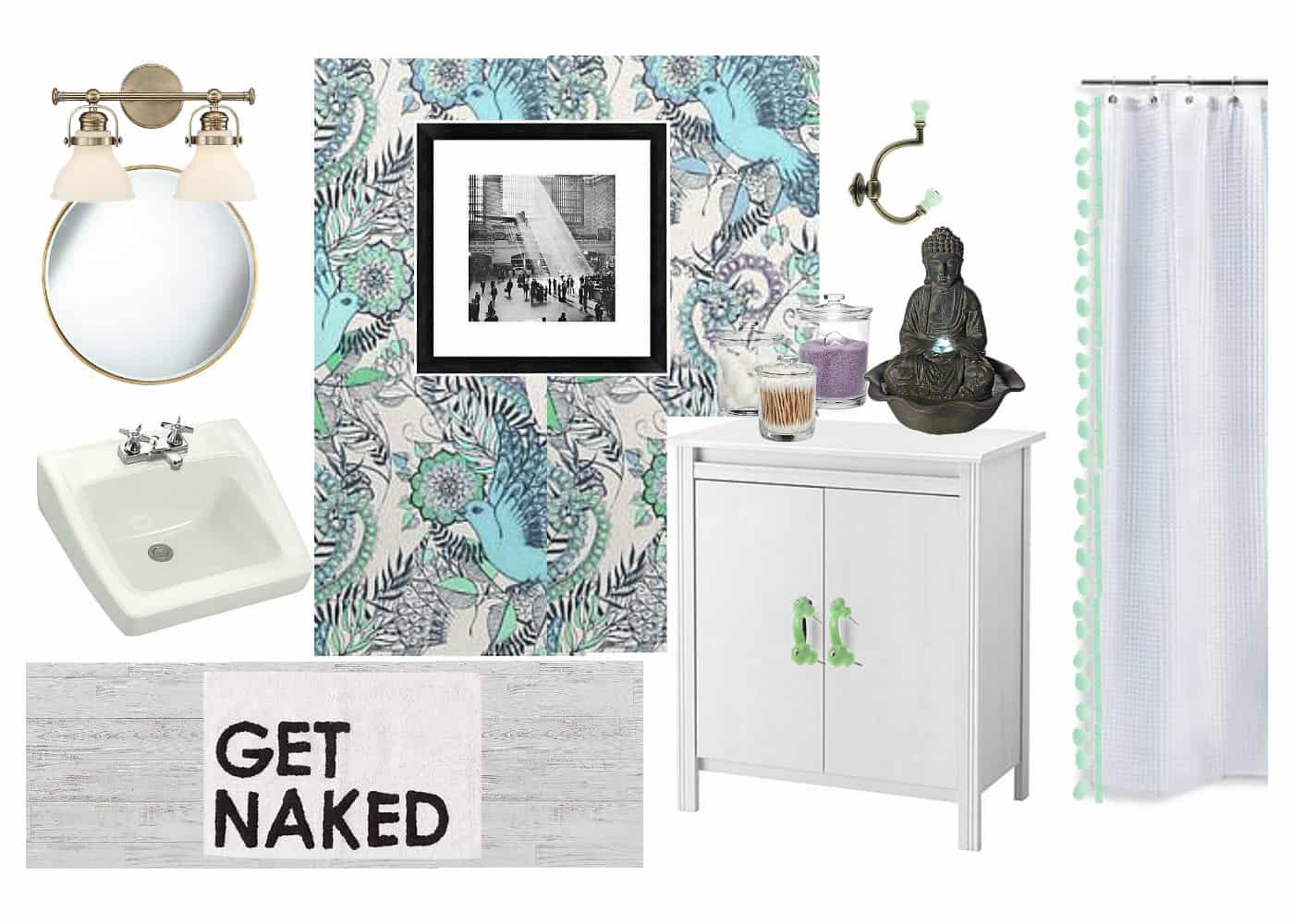 vision board for 3rd floor bathroom