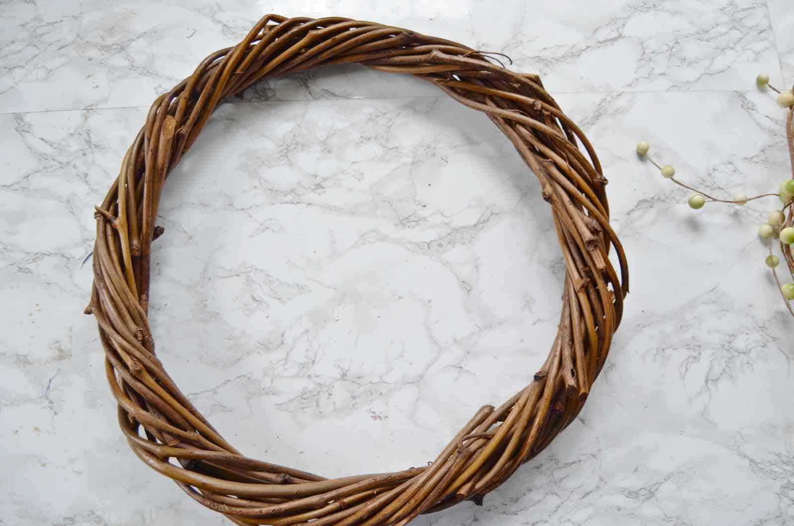 materials for diy fall wreath