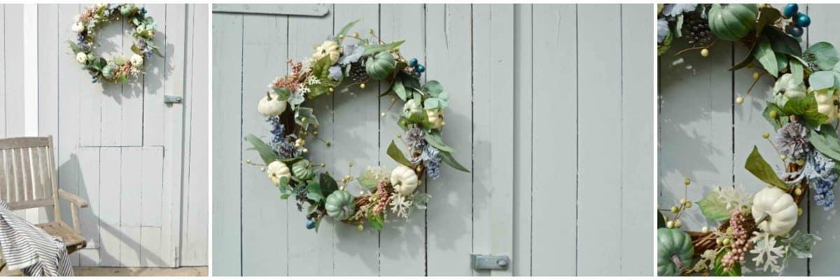 15 Minute Fall Wreath
